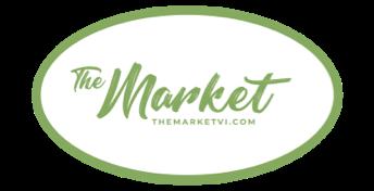 A logo of The Market VI